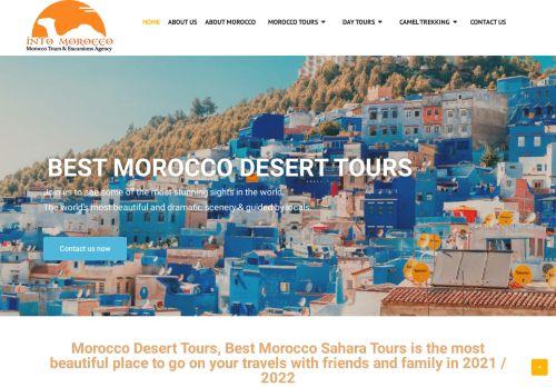 لقطة شاشة لموقع intomorocco بتاريخ 02/05/2021 بواسطة دليل مواقع الدليل السهل