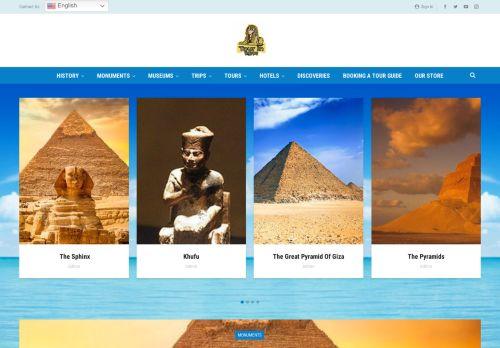 لقطة شاشة لموقع Tour in egypt بتاريخ 22/09/2021 بواسطة دليل مواقع الدليل السهل