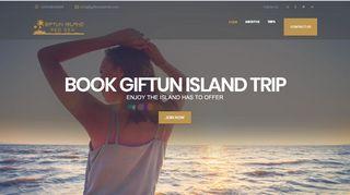 لقطة شاشة لموقع جزيرة الجفتون Giftun Island بتاريخ 31/12/2019 بواسطة دليل مواقع الدليل السهل