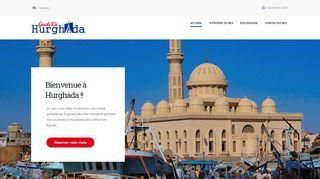 لقطة شاشة لموقع Guide De Hurghada بتاريخ 07/01/2020 بواسطة دليل مواقع الدليل السهل